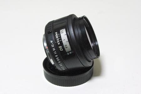 50mm おまけでくれた|Pentax FA50mm F1.4