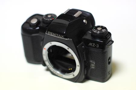mz3 銀塩とデジタル|MZ 3とK200