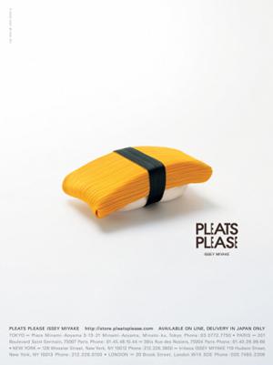 pleats please 011 ハッとする|PLEATSPLEASEと佐藤卓