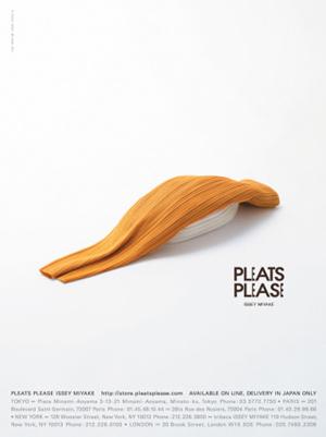 pleats please 04 ハッとする|PLEATSPLEASEと佐藤卓