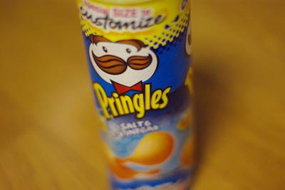 pringles 輸入食材、というかお菓子。
