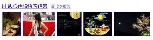tukimi 今夜は十五夜|Googleロゴ