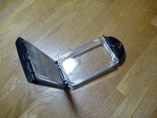 20120130 06 快適お風呂生活|iPhone 4S防水ケース