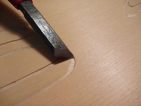 P1010355 自分で作ってみた|手作り表札