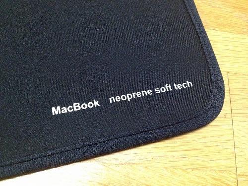 20121120 03 コンパクトで使いやすいMacbook Air 11用ケース|IN MAC11BK