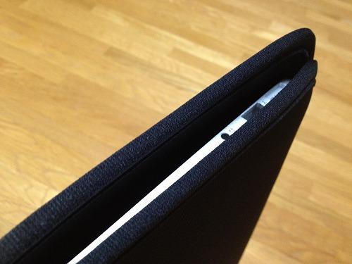 20121120 06 コンパクトで使いやすいMacbook Air 11用ケース|IN MAC11BK