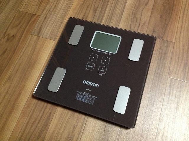 20130219 02 体重計を買ったので僕の身体情報を大公開|カラダスキャン HBF 214
