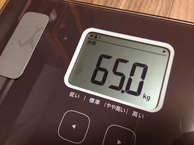 20130219 14 体重計を買ったので僕の身体情報を大公開|カラダスキャン HBF 214
