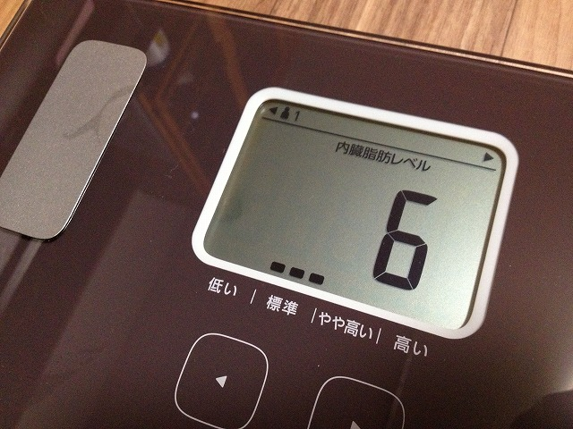 20130219 16 体重計を買ったので僕の身体情報を大公開|カラダスキャン HBF 214