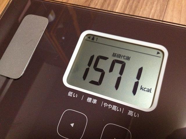 20130219 19 体重計を買ったので僕の身体情報を大公開|カラダスキャン HBF 214