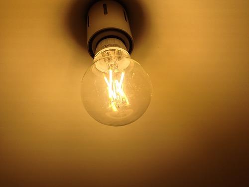s IMG 1221 カフェみたいになるかも。|フィラメント風LED電球